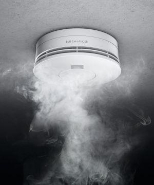 Rauchwarnmelder und Wärmewarnmelder