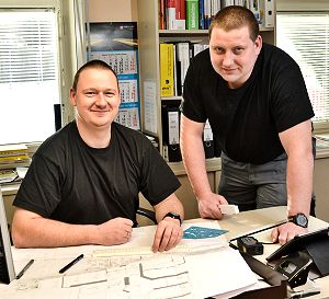 Hagen und Torsten Franz