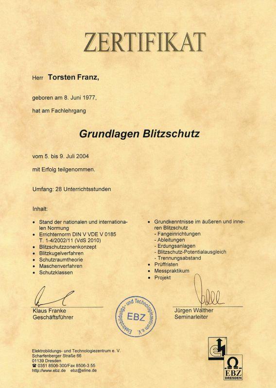 Franz Elektrotechnik - Elektroinstallationen, Elektromeister