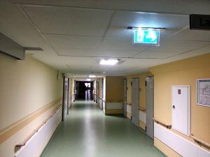 Beleuchtung Notaufnahme im Klinikum Ebersbach