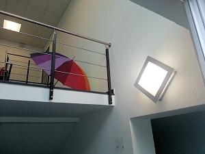 Beleuchtung eines Treppenhauses